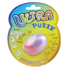color changing Bouncing putty in egg Ultra putty handgum