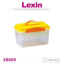 stackable 13l pp fruit rectangle plastic container with lid