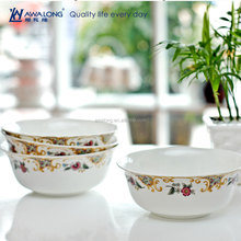 Easy to clean up aristocratic Bone China Ceramic dinner set