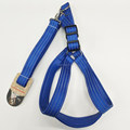 Neoprene Dog Harness And Leash With Reflective Thread