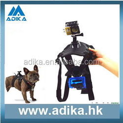 Gopros Dog harness for GoPros 4/3+3 for Dog Fetch Harness pet Chest Strap ADK-GP203
