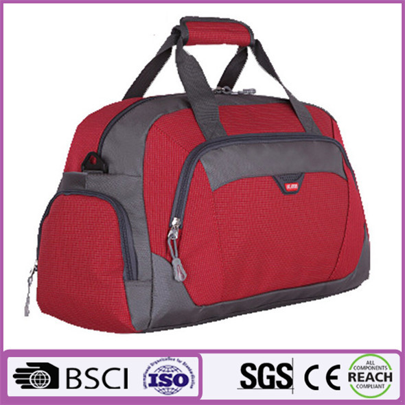with basketball holder high quality sport bag with ball holder ladies duffel bag