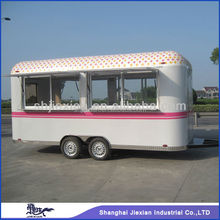 JX-FS500R Professional Factory price Outdoor Mobile towable travel trailer