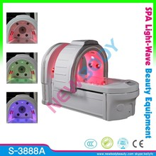 2015 top sale infrared spa causule / ozone dry steam sauna CE / photon 15 Big lights therapy spa capsule
