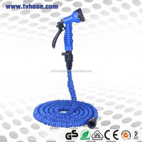 Free sample available expanding flexible quick connect garden hose elastic shrinking hose