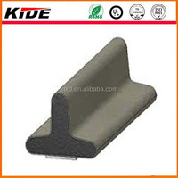 T shape rubber epdm/silicone rubber extrusion strips of rubber
