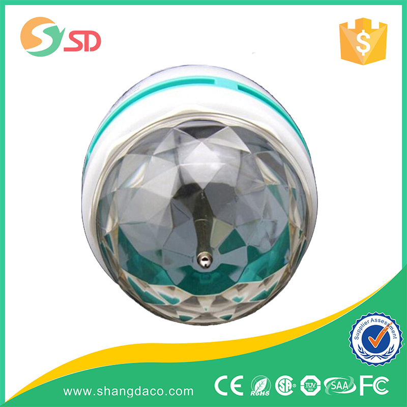 Disco Light T2 Half Spiral cfl 3W disco bulb Lamp