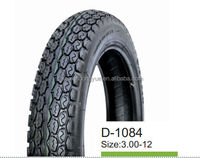 hot sale 3.00-12 tire high quality motorcycle tyre factory directly
