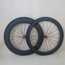 U shape road carbon wheelset 60mm+88mm clincher wheels for road bike