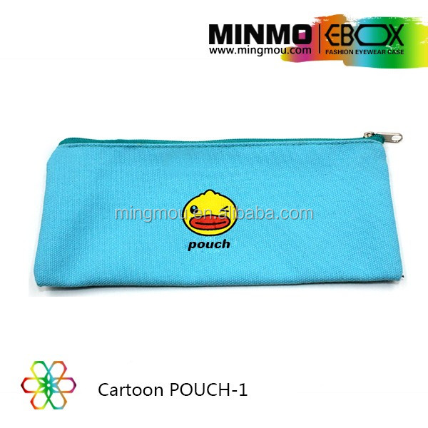 New product zipper canvas sunglasses bag zip pouch, soft goggle pocket carry pouch custom jewelry pouch, cloth pouch