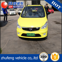 China best supplier used hybrid 4 seat electric solar automatic car