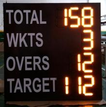 LED electronic portable digital cricket scoreboard for sale