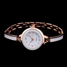 beautiful ladies wrist watch with ceramic and alloy japan movt ladies watch