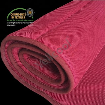 red wellcool spacer fabric airflow mattress topper