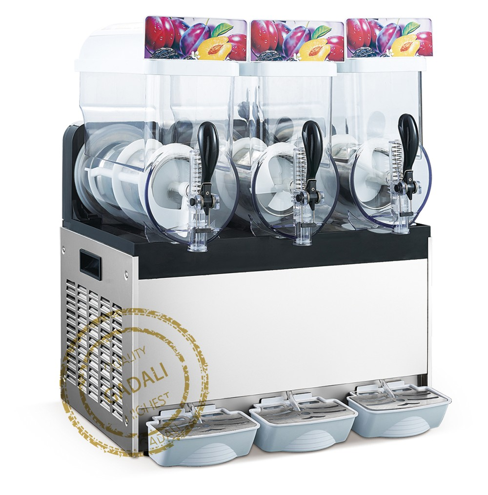 High quality competitive prices stainless steel penguin slush machine trade snow white