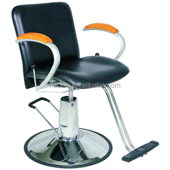 Round Base Modern Hydraulic barber chair hair cutting chairs with pedal wholesale barber supplies F-2210