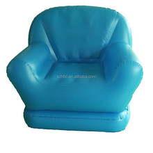 customized custom design elegant inflatable sofa,blue inflatable sofa chair
