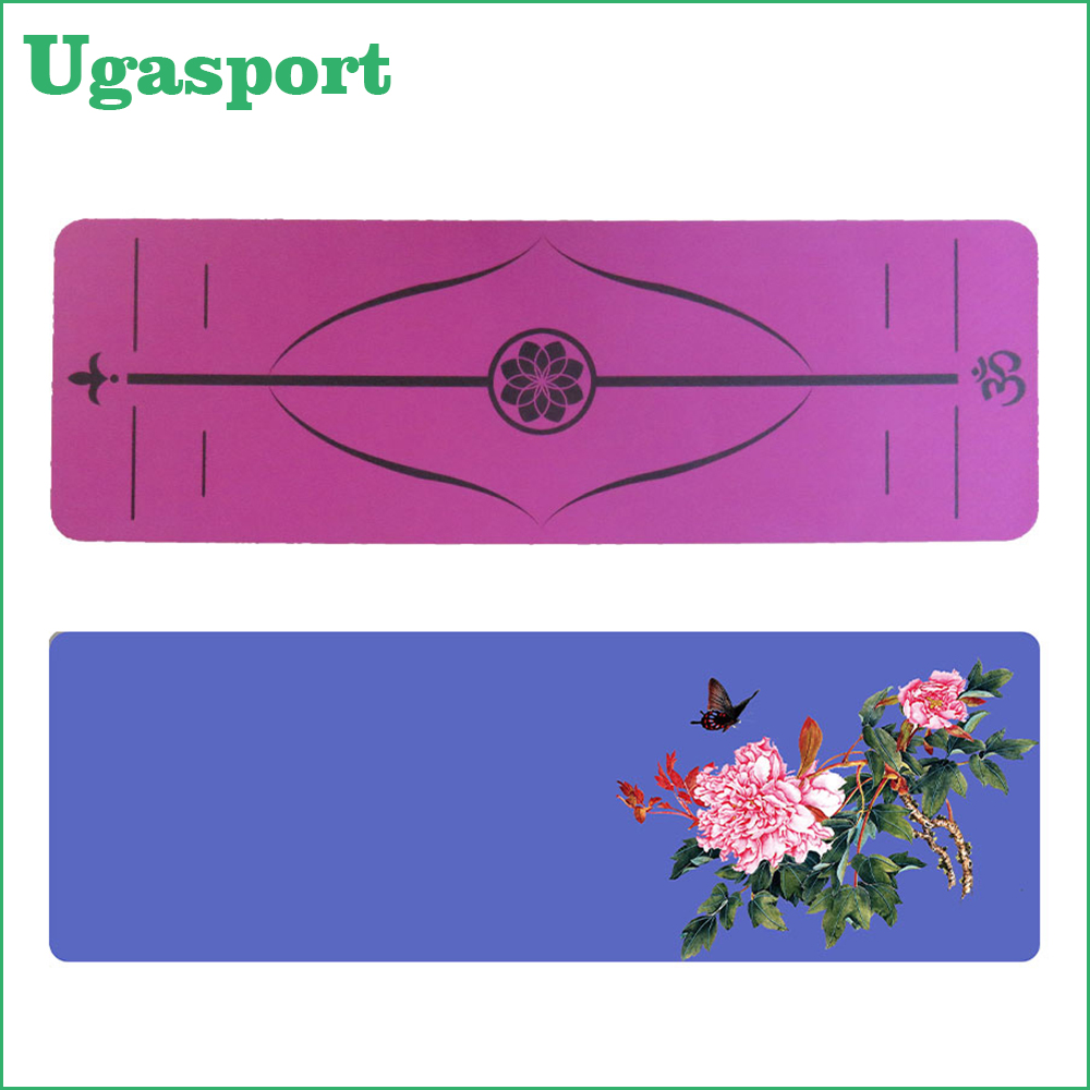 exercise photo print yoga mat as seen on tv product