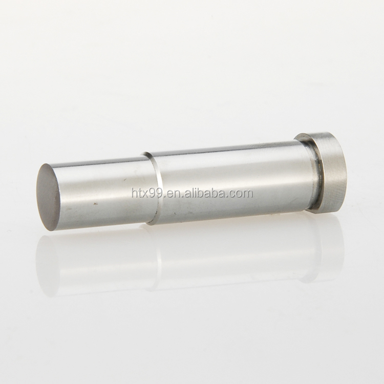 High precision tungsten carbide shoulder punch