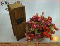 Beauty wooden wine boxes for wine carrier