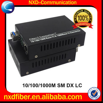 10/100/1000M SFP Port Dual Fiber Optic Media Converter