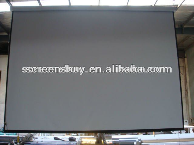 Low Cost Electric Projector Screens (hot Sales)