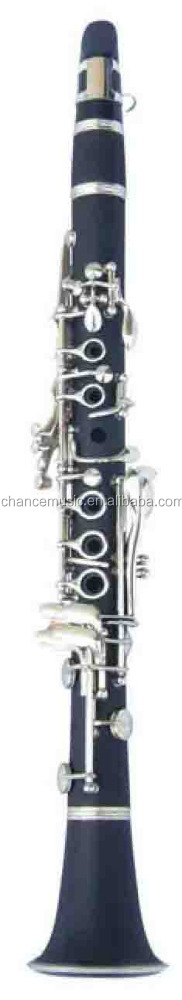 Professional Nickel Plated Hard Rubber Eb Clarinet ABC1303