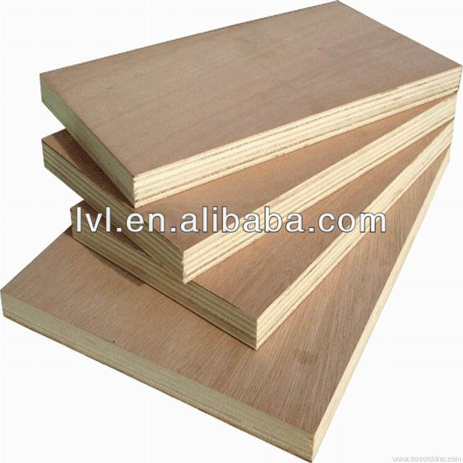 high quality full 18mm hardwood plywood,commercial plywood