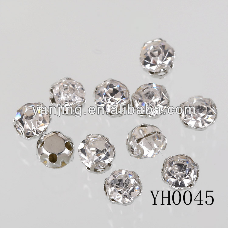high quality glass crystal 888 stones for dresses