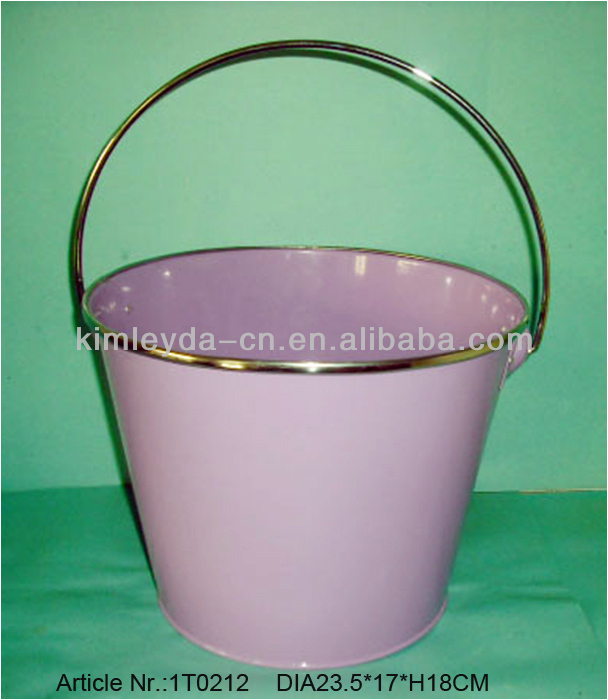 2016 Hot sale galvanzied water bucket