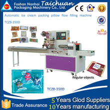 Automatic ice cream packing pillow filling machine TCZB-350D