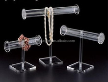Clear Countertop Acrylic Bracelets Display Holder Stand Acrylic Jewelry Display Hangers
