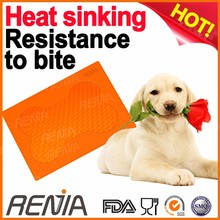 RENJIA feeding mat pet silicon puppy training pad wholesalers silicone bed dog