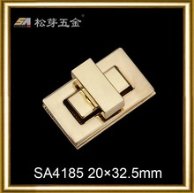 metal bag locks and clasps metal clasp lock for bags,bag accessory metal locks