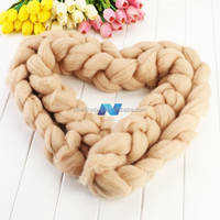 Hot Fashion Baby Infant 327/ 127.5' Long Wool Blend Carpet New Born Basket Stuffer Photography