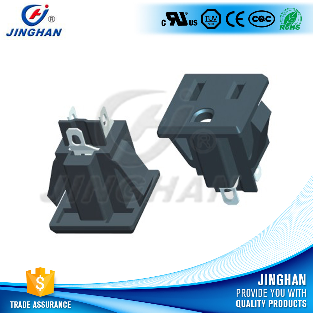 High quality 10A socket ac 3-way power electronic outlet power socket