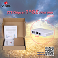 High Performance Low Cost 1GE ZTE Chipset EPON Mini Plastic 1 Gigabit FTTH GEPON ONU with VSOL Brand
