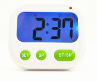 2015 New Night Vision Timer with Shock Music Alarm Cute Digital Kitchen Countdown Timer