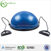 ZHENSHENG half gym fitness ball with handles