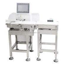 Automatic Weight Checker Dynamic Check Weight Machine SUS304 Conveyor Check Weigher for Food