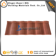 Color Metal Roof Tile Building Materials kenya sand coated roofing tiles for house