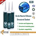 Single Component Neutral Silicone Structural Sealant