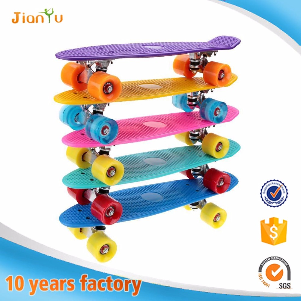 OEM Logo printed Professional Mini Fish skateboards Skateboard wholesale