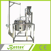 Industrial steam distillation plant for mentha oil