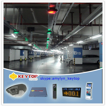 KEYTOP INDOOR CAR PARK VEHICLE TRACKING SYSTEM BASED ON IP CAMERA AND LPR SOFTWARE