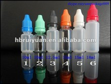 pe/pet plastic bottle for e-liquid 10ml15ml20ml30ml