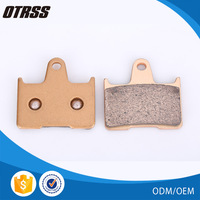 Great hardness front wheel used metal sintered disc brake pad for KAWASAKI ROAD ZX
