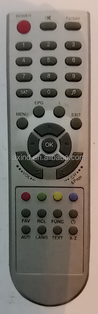 ANHUI REMOTE CONTROL FOR TV MODEL HIVION 7000, MIDDLE EAST MARKET, FOR OEM