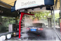Dericen Roll-over tunnel car wash equipment touchless cleaning machine With Dryer brushes or touchless free