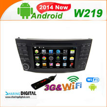 Android 4.2.2OS Autoradio DVD GPS for In dash android Car Gps Navigator for CLK W209 2005-2006